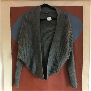 club monaco wool knit shrug • size xs